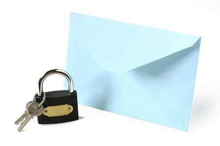 メールを暗号化する